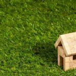 dach pokryty trawą